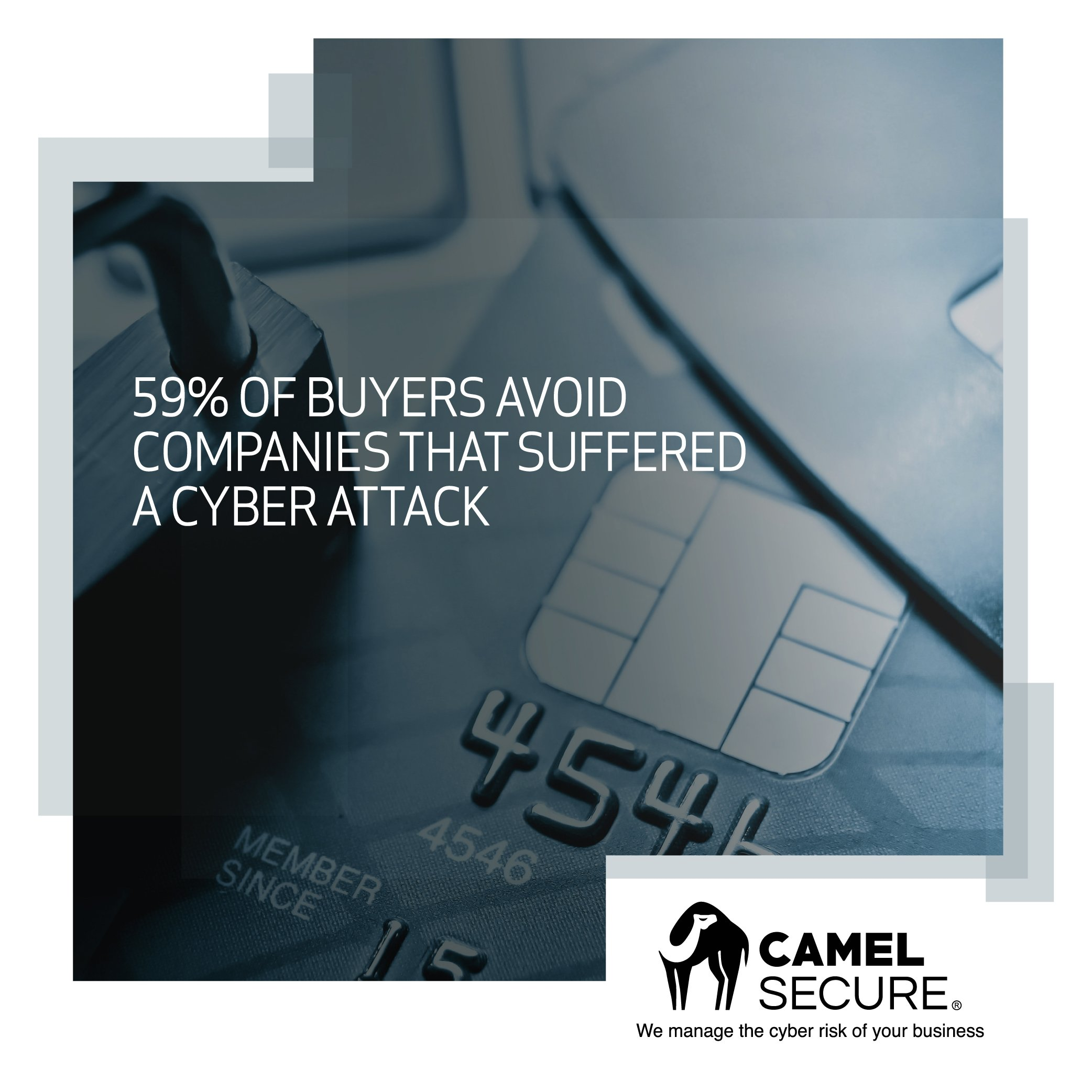 59% of buyers avoid companies that suffered a cyber attack