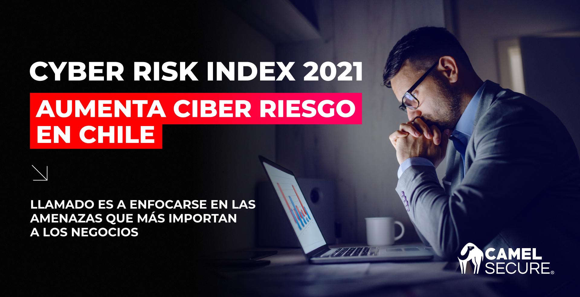 Cyber Risk Index 2021: Aumenta Ciber Riesgo En Chile.