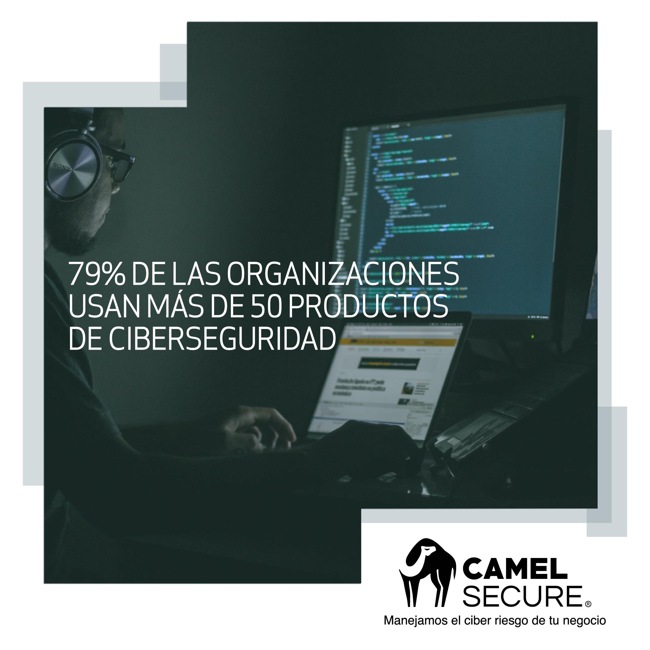 79% de las organizaciones usan más de 50 productos de ciberseguridad